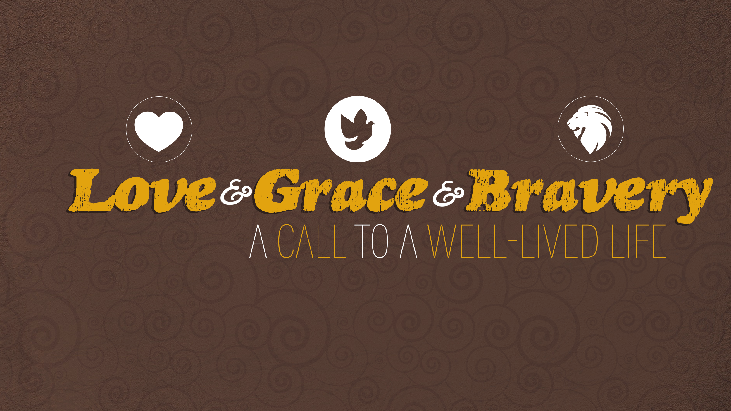 Love, Grace & Bravery: Part 2 - Grace